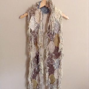 Shabby Crotchet Patches Scarf